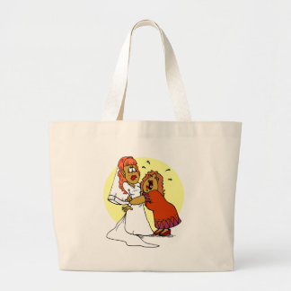 Bride Mother Wedding Day Ceremony Large Tote Bag