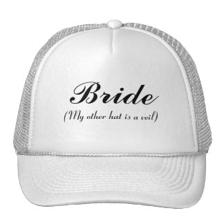Bride, My other hat is a veil