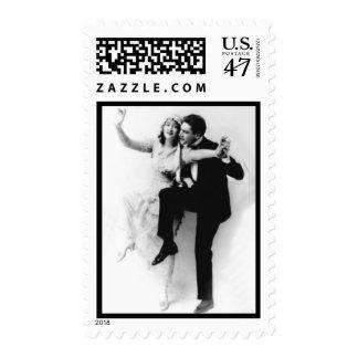 Bride n Groom Dancing Stamp