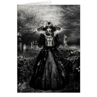Bride Of Darkness Greeting Card