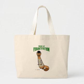 bride of ferretstein canvas bags