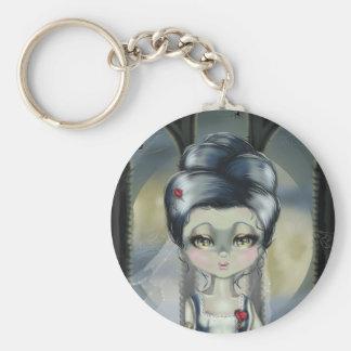 Bride of Franken Basic Round Button Keychain