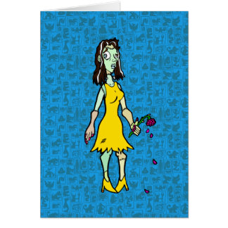 Bride-of-Frankenstein Greeting Cards