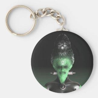 Bride of Frankenstein - Halloween Keychain