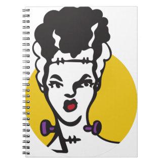 Bride Of Frankenstein Notebook