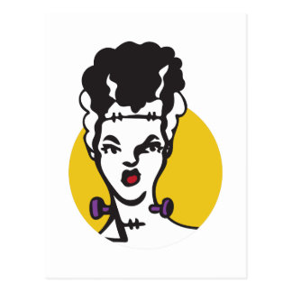 Bride Of Frankenstein Postcard