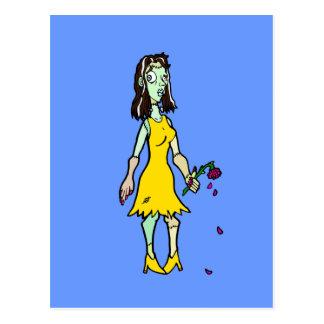 Bride-of-Frankenstein Postcard