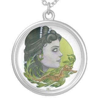 """Bride of Neptune 2"" Round Pendant Necklace"