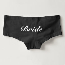 Bride Panties in black