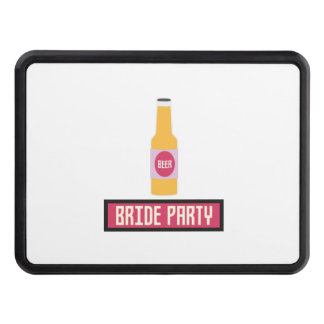 Bride Party Beer Bottle Z6542 Hitch Cover