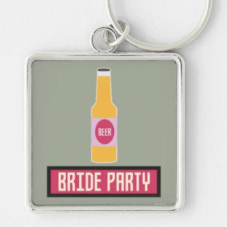 Bride Party Beer Bottle Z6542 Keychain