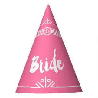 Bride party hat