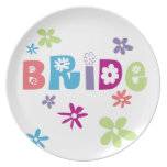 Bride Party Plate