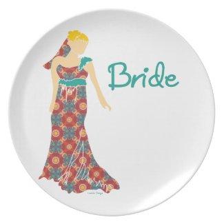 Bride Party Plates