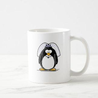 Bride Penguin Coffee Mugs