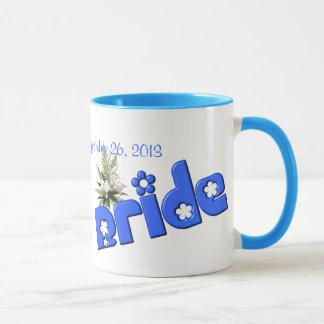 Bride Personalized Wedding Coffee Mug