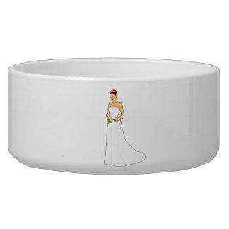 Bride Dog Water Bowl