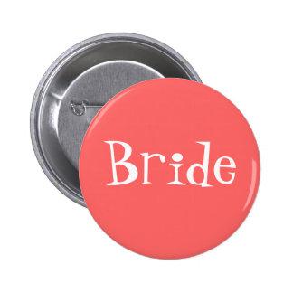 Bride Pinback Button