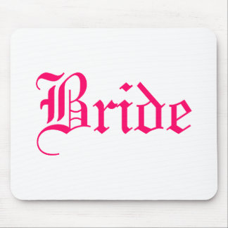 Bride (Pink 2) Mouse Pad
