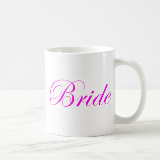 Bride-Pink Classic White Coffee Mug