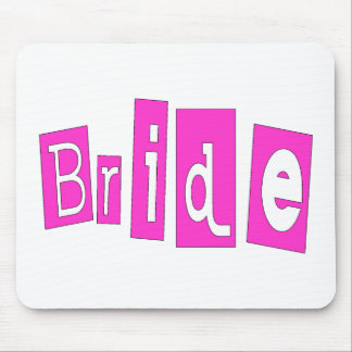 Bride Pink Mouse Pad