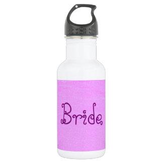 Bride Pink Stainless Steel Water Bottle