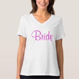 Bride Pink T Shirt