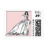 Bride Postage Stamp