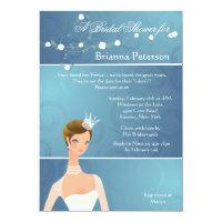 Bride Princess Bridal Shower Invitation