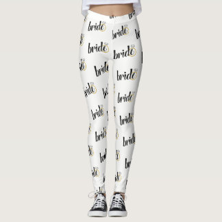 Bride Printed Leggings