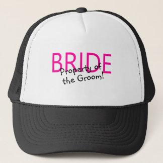 Bride Property Of The Groom Trucker Hat
