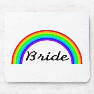 Bride (Rainbow) Mouse Pad