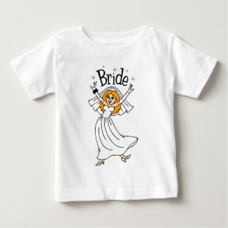 Bride (Red Hair) Baby T-Shirt
