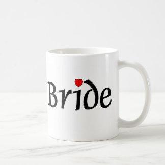 Bride (Red Hearts) Coffee Mug