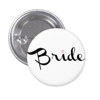 Bride Retro Script Button