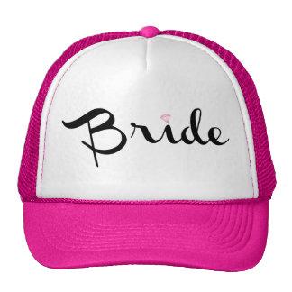 Bride Retro Script Trucker Hat