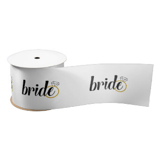 Bride Ribbon - Bridal Shower, Engagement, Wedding
