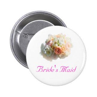 Bride s Maid Button