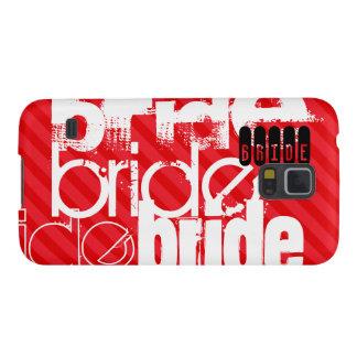 Bride; Scarlet Red Stripes Galaxy S5 Cases