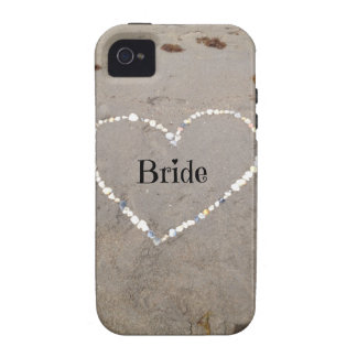 Bride Shell Heart iPhone4 Case
