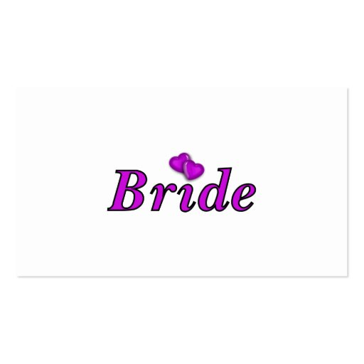 Bride Simply Love Business Card