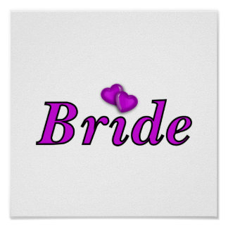Bride Simply Love Poster