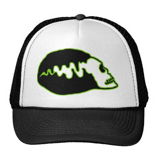 Bride Skull Mesh Hats