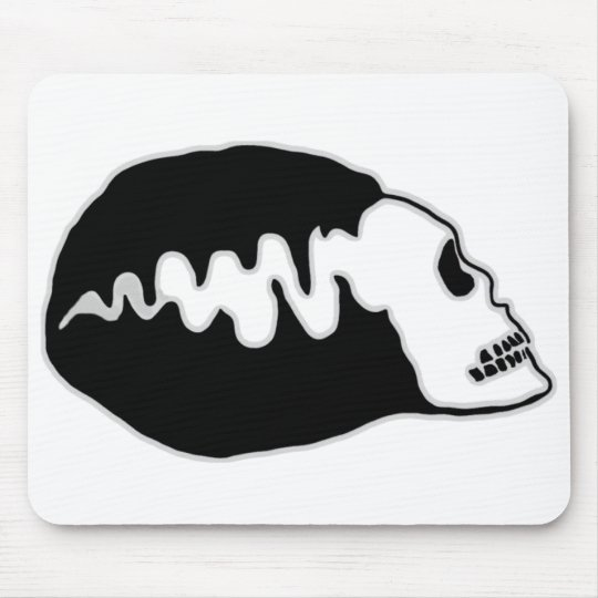 Bride Skull Mouse Pad