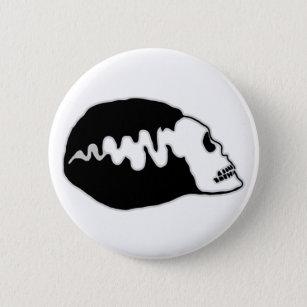 Bride Skull Pinback Button