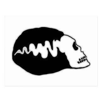 Bride Skull Postcard