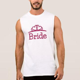 Bride Sleeveless Shirt