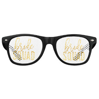 Bride Squad Party Glasses