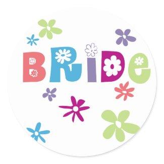 Bride Stickers sticker
