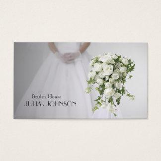 Bride Stylist Wedding Florist Dress Salon Business Card